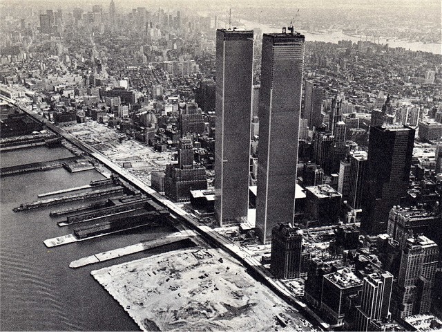 Etats Unis New York World Trade Center 1966 2001